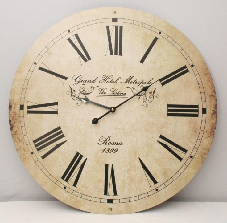 Entzuckend 60cm Extra Large Kitchen Wall Clock Vintage Retro Antique Shabby Chic  Wallclock. KüchenwanduhrenGroße WanduhrenKüchenwändeGroße .