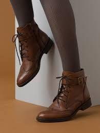 """Résultat de recherche d'images pour """"bottines cuir marron femme"""""""