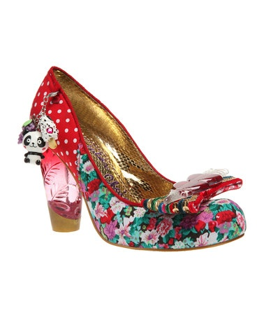 Although I could never get away with wearing these, I think they are FUN!! Take a look at this Red Stick of Rock Pump by Irregular Choice on #zulily today!