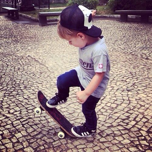The links is for baby names not clothes, but this kid's outfit looks adorable!