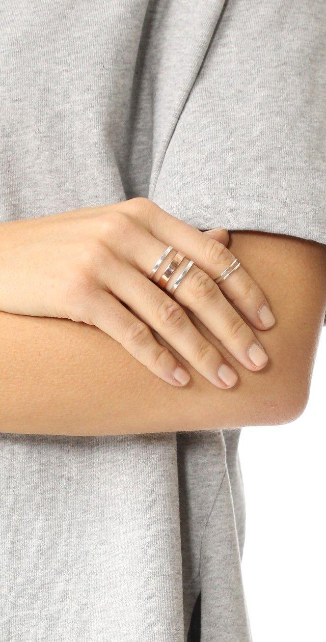 Maya Magal Stripe Ring | SHOPBOP