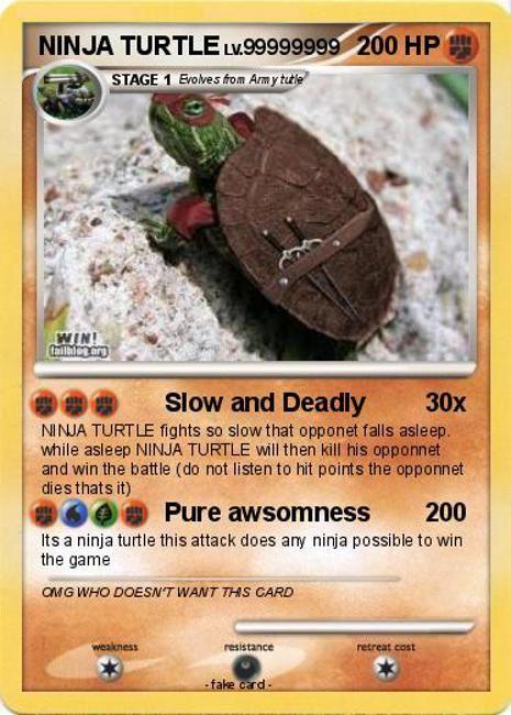 21 Funny Fake Pokemon Cards | SMOSH