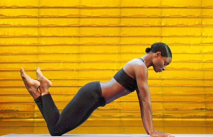 Pilates für starke schlanke Arme und definierte Schultern.