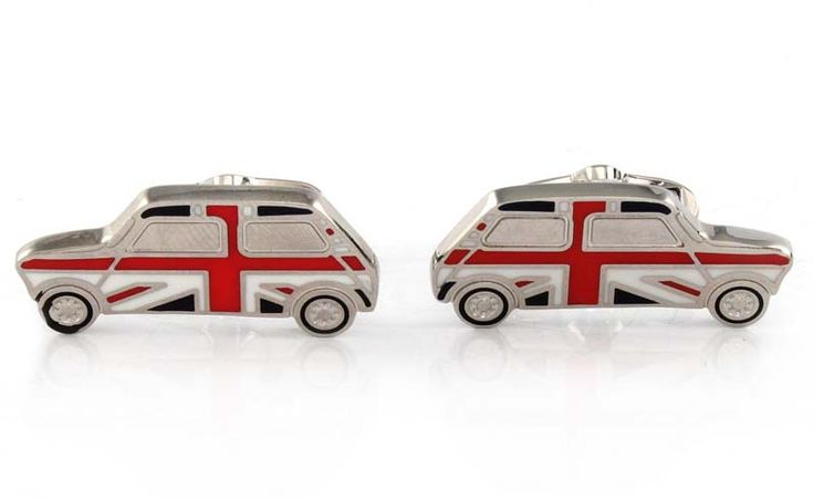 #THANKSDAD: OUR TOP 10 COOLIST FOR FATHER'S DAY - Paul Smith Union Jack Mini Car Cufflinks from Go British