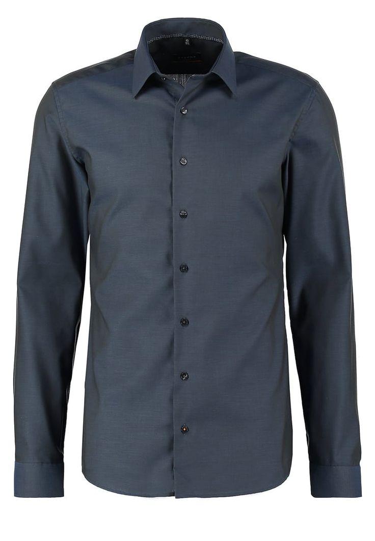 Eterna SLIM FIT Koszula biznesowa anthrazit