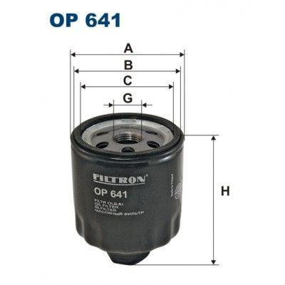 Filtron olajszűrő OP641 1 db