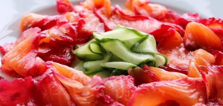 Chef Gordon Ramsay's Beetroot Cured Salmon Recipe Components For the cure: 1 mug of salt