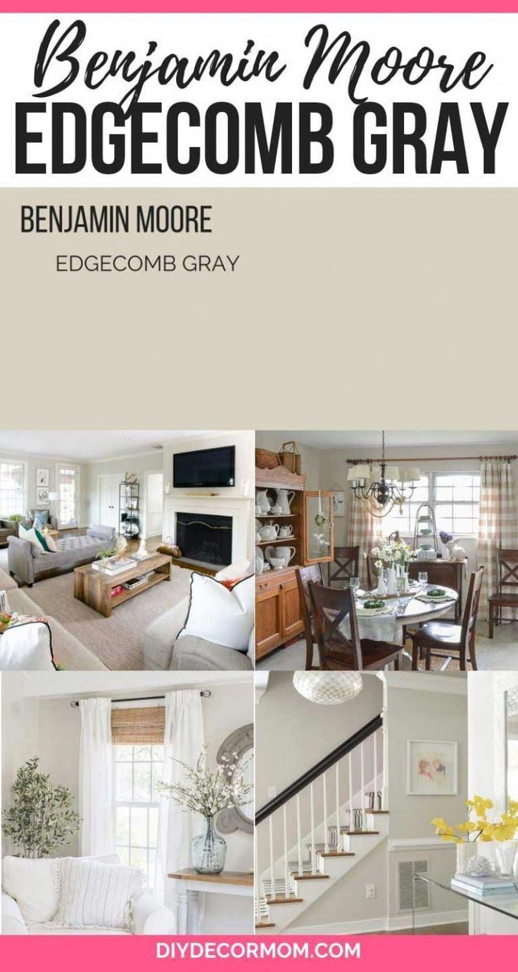 Edgecomb gray looking for the perfect light gray paint - Perfect paint color for living room ...