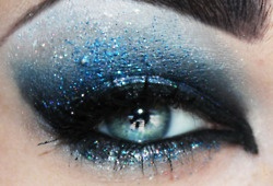 I wish crazy eyeshadow was acceptable in every day life...