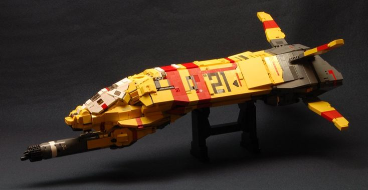 LEGO Homeworld Ships Are Works Of Art