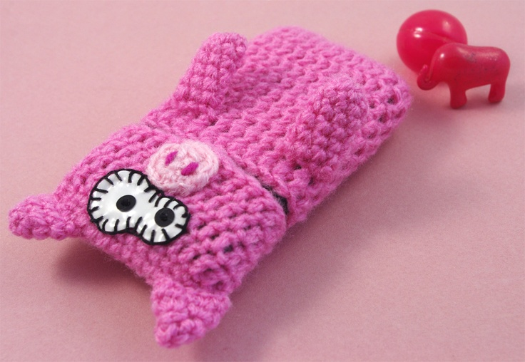 Pig phone Case by CocoFlower.
