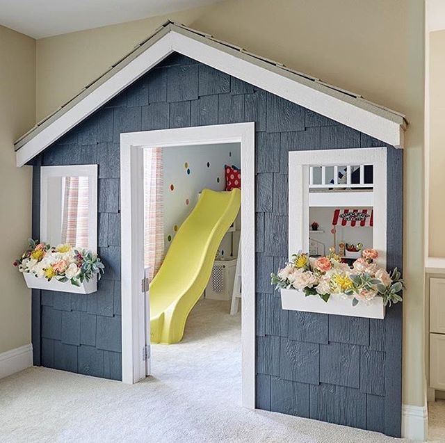 From a real life Nantucket cottage to a playroom cottage complete ...