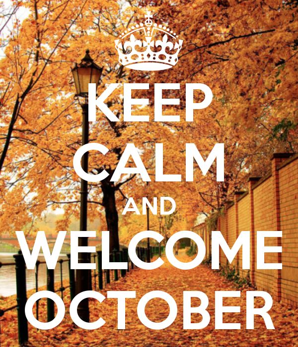Lovely autumn leaves we don't get her on the Gulf Coast.  Keep Calm and Welcome October