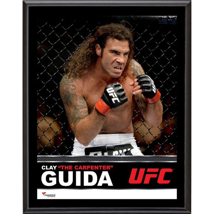 Clay Guida Ultimate Fighting Championship Fanatics Authentic 10.5'' x 13'' Sublimated Plaque