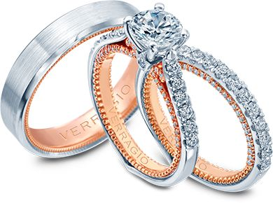 Bridal Ring Sets - Verragio | Designer Engagement Rings and Wedding Rings by Verragio