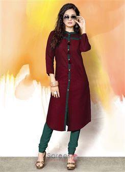 0616983303d42 Designer Cotton Casual Wear Lace Work Kurtis Wholesale Collection  #casualkurti #kurti #kurtiwholesale #kurtionlineshopping #womenkurti
