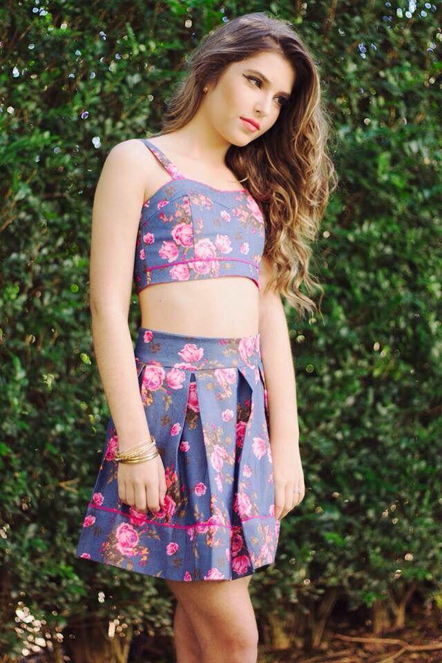 Conjunto Cropped -Miss Teen verao 2016- Mafe Nobrega
