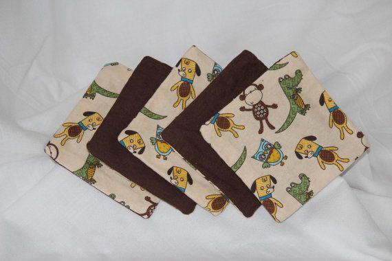 Baby Washcloths by MandersbyAmandaDLK on Etsy, $5.00