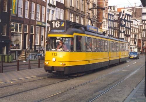 Netherlands Tram.