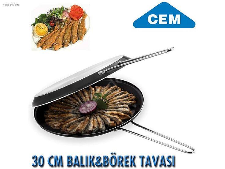 CEM BALIK BÖREK PİŞİRME KIZARTMA TAVASI 30 CM - Cem Tava Fiyatları ve Mutfak Gereçleri sahibinden.com'da - 186440396