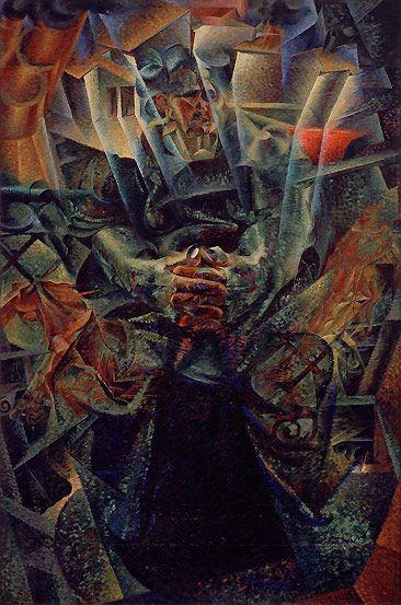 Guggenheim Umberto Boccioni  - Materia