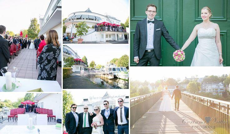 Hochzeitsfotograf in Mülheim an der Ruhr | Hier im Franky's im Wasserbahnhof | Mehr von dieser wunderschönen Hochzeit auf dem Blog!
