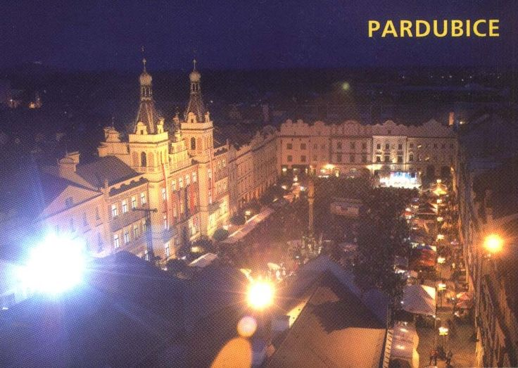 from Pardubice