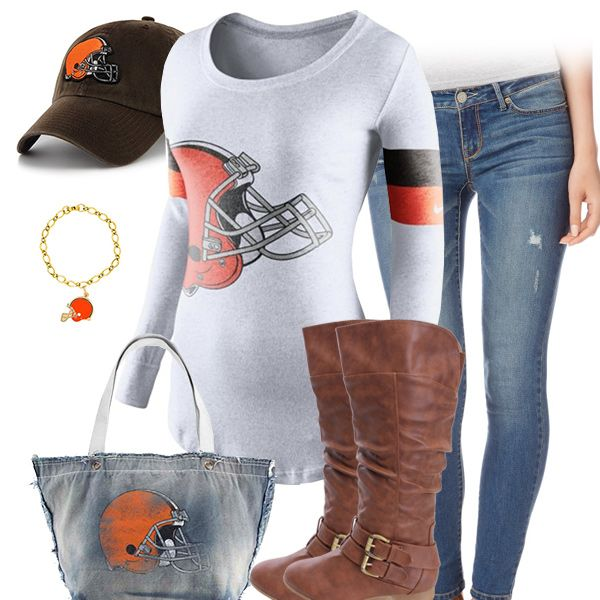 Cute Cleveland Browns Outfit