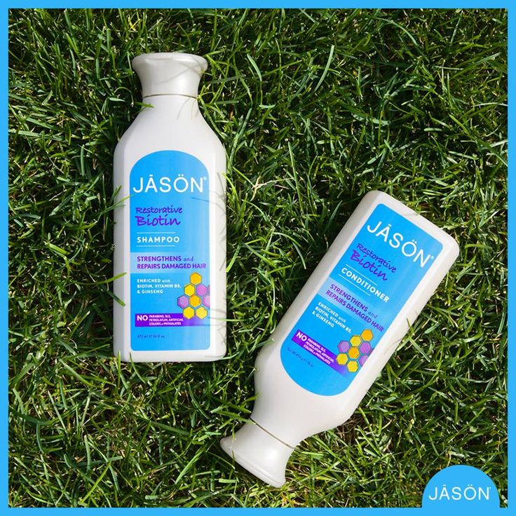 http://www.theremustbeabetterway.co.uk/catalogsearch/result/?q=Jason+Biotin Jason Natural Biotin Hair Care Shampoo & Conditioner #Biotin #Shampoo #Conditioner #Sensitive #JasonNatural Strengthens & Repairs Damaged Hair. Jason Shampoo & Hair Conditoner gently restores healthy strength to weak, damaged hair. The thickening properties Biotin & Vitamin B5's revitalise hair's elasticity. Ginseng & lavender extracts help repair split ends & minimise breakage. Your hair grows stronger. Vegetarian.