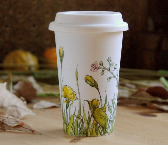 Plastic nature  #lifeinstyle #greenwithenvyFloral Faux, Lifeinstyl Greenwithenvi, Packaging Design, Coffee Cups, Paper Coffee, Faux Paper, Reusable Coffee, Coffee Mugs, Painting