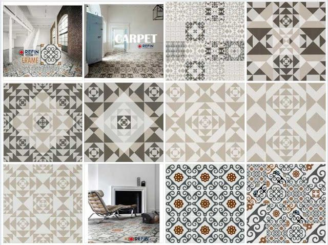 9 tiles trends interior architecturala Sketchup Texture