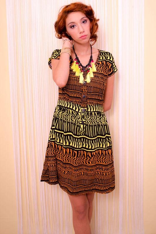 Vestido Étnico - Squeeze Me
