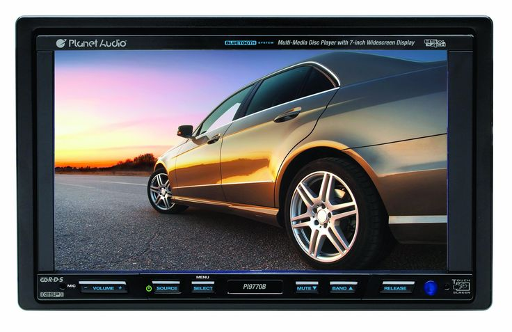 Planet Audio PI9770B 7-Inch iPod Compatible Double-Din In-Dash Receiver