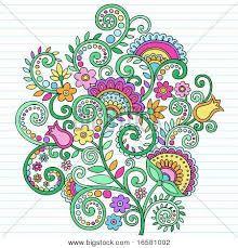 Resultado de imagen para enredaderas de colores dibujo