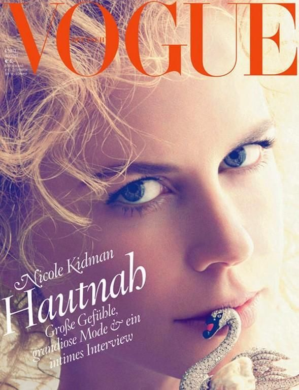 Nicole Kidman - Vogue Germany August 2013 Covers