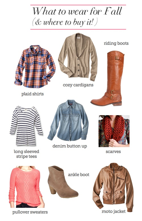 Tons of sources for finding affordable chambray tops, comfy cardigans, plaid shirts, fall boots and more at affordable prices.