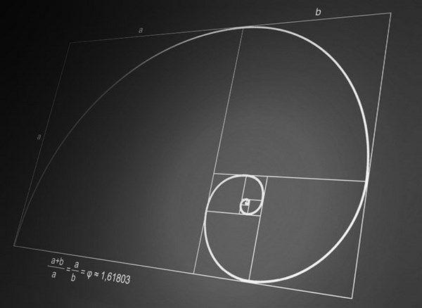 SECCIÓN AUREA:  La sección áurea  La regla o sección áurea es una proporción entre medidas. Se trata de la división armónica de una recta en media y extrema razón. Esto hace referencia a que el segmento menor es al segmento mayor, como este es a la totalidad de la recta. O cortar una línea en dos partes desiguales de manera que el segmento mayor sea a toda la línea, como el menor es al mayor.