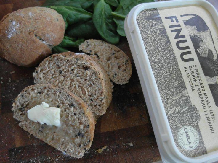 """""""Choć wolę masło to Finuu przekonało mnie do tego że można zrobić dobrą margarynę z masłem. Polecam wszystkim którzy nie mają cierpliwości do masła. :)"""" - Takie opinie uwielbiamy!  #Finuu #bezkonserwantow #naturalniesmaczne #finskiemaslo #finnishfood #finnishbutter #chleb #sniadanie #inspiracje #finlandia"""