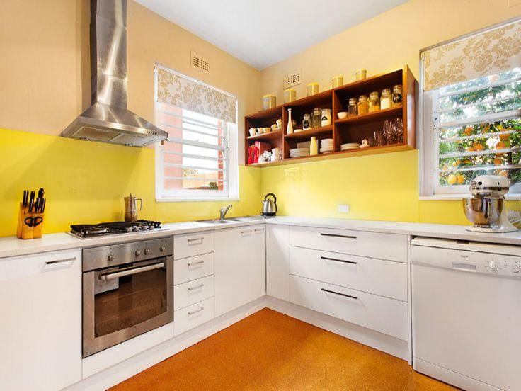 Lovely Wonderful L Shaped Kitchen Designs Decorating Ideas White L Shaped Kitchen Design With Nice Wall L f rmige K che