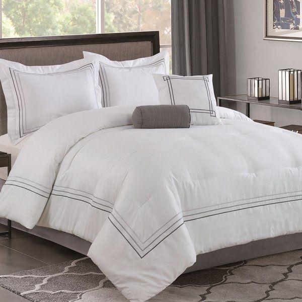 The Twillery Co Aragon Cotton 5 Piece Comforter Set Reviews Wayfair Comforter Sets Comforters Bed