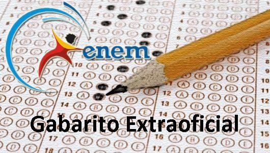 Enem Gabarito 2015 - 1º dia - 24 de outubro - 24-10-2015   NoticiaBR.com