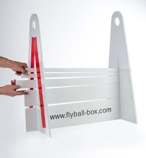 Flyball - překážka - červená