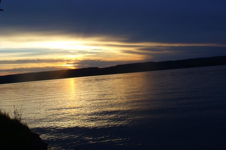 "Lake Diefenbaker, Saskatchewan. ""Peaceful Paradise"""
