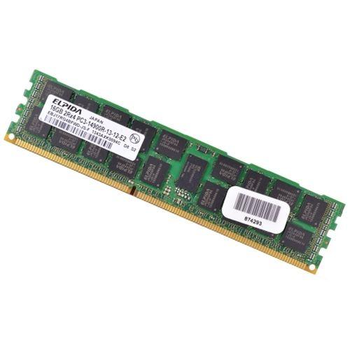 Elpida 16GB DDR3 RAM 1866MHz PC3-14900R 240-Pin DIMM