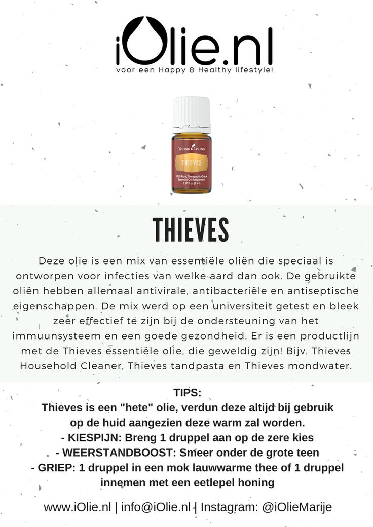 Thieves 15ml   – young and living essential oils