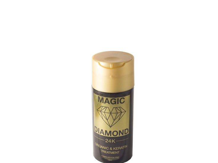 Megic Diamond 24K Jan Bono Organic Keratin Straightening Treatment All Hair Type #JanBono