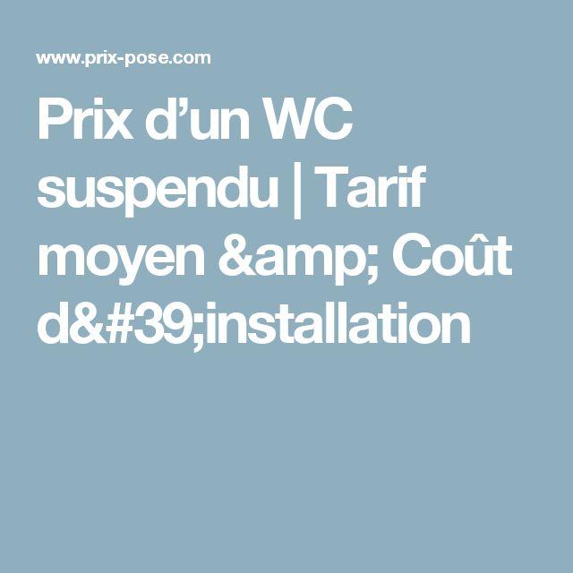 25 best ideas about wc suspendu on pinterest toilettes toilette and deco - Prix d un wc suspendu ...