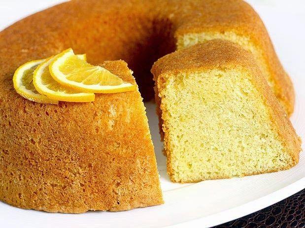 Delicioso bolo de limão sem glúten   Cura pela Natureza.com.br