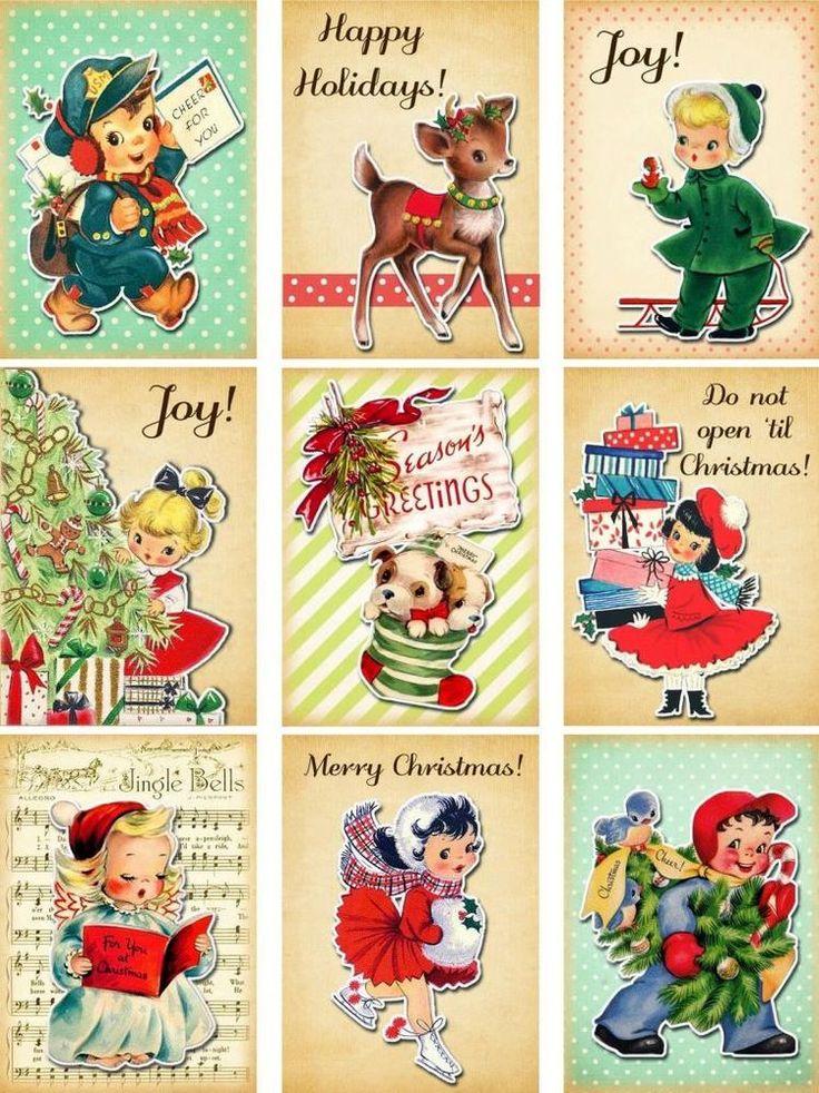 Boy And Tags Christmas