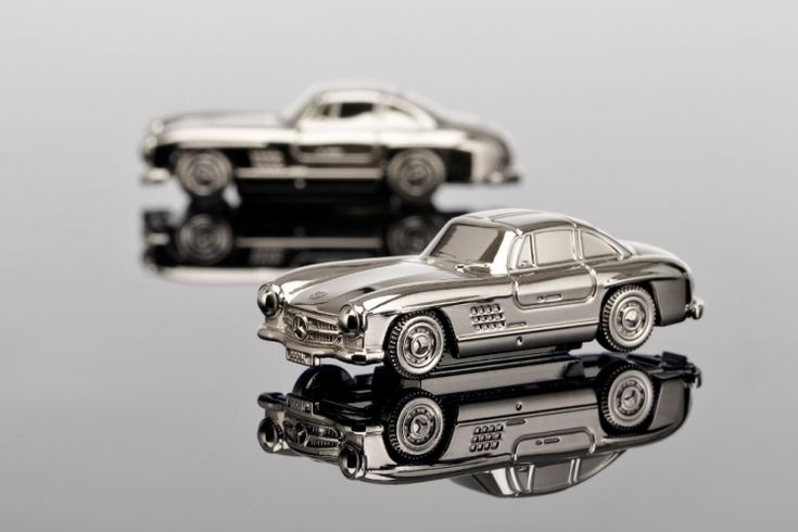 Magnet Chrome Mercedes-Benz 300 SL